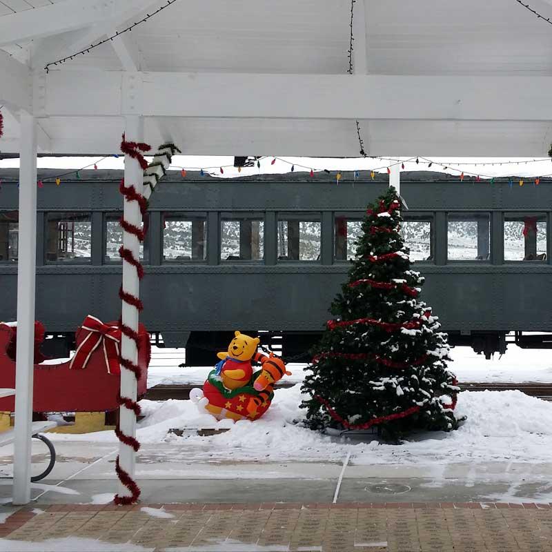 winter train rides Ely Nevada