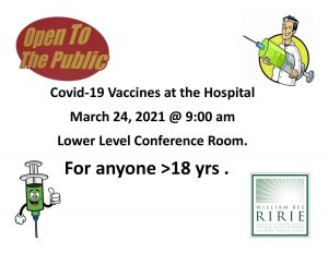Covid 19 vaccine clinic in Ely NV