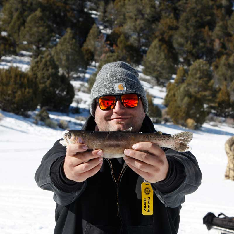 Ice Fishing Ely Nevada